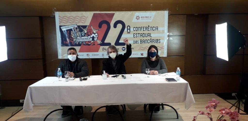 22ª Conferência Estadual da Fetec-CUT-PR encaminha propostas e escolhe delegados para Conferência Nacional d@s Bancari@s que ocorrerá nos dias 17 e 18 julho